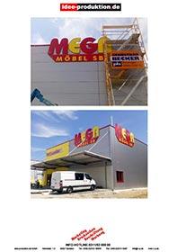 Möbel Mega Sb Idee Produktiondemarketingdrucksachenbeschriftung