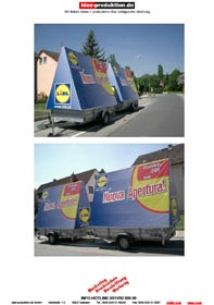 Werbeanhänger rent-me24.de Referenzen